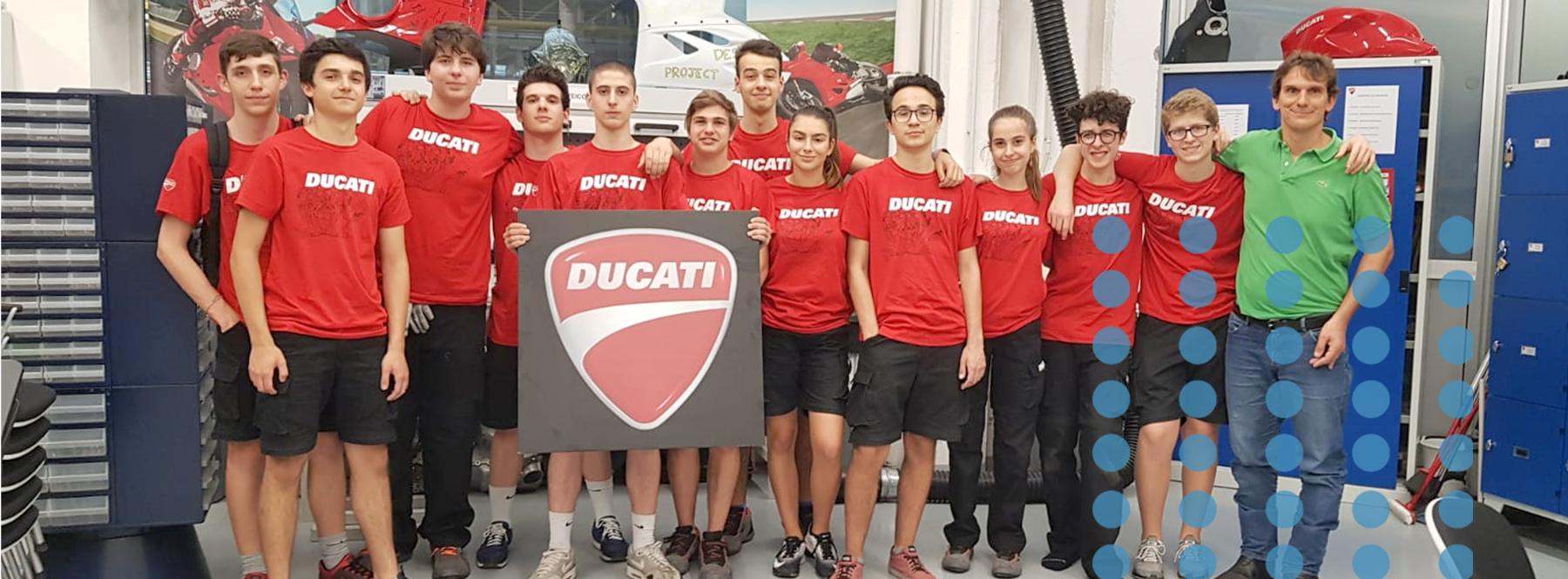 Scuole Malpighi Stage Ducati